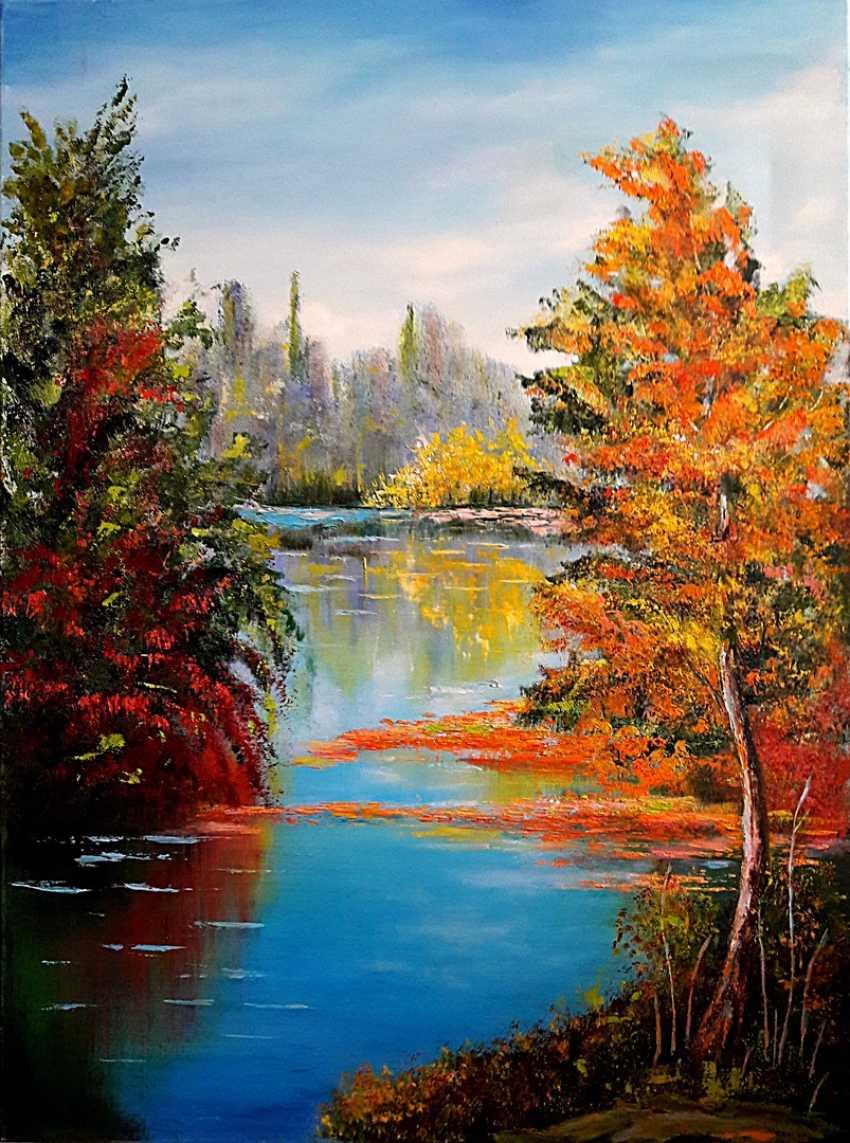 Svitlana Antonova. The colors of autumn - photo 1
