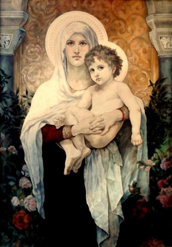 Natalia Samsonova. Virgin Mary with roses - photo 1