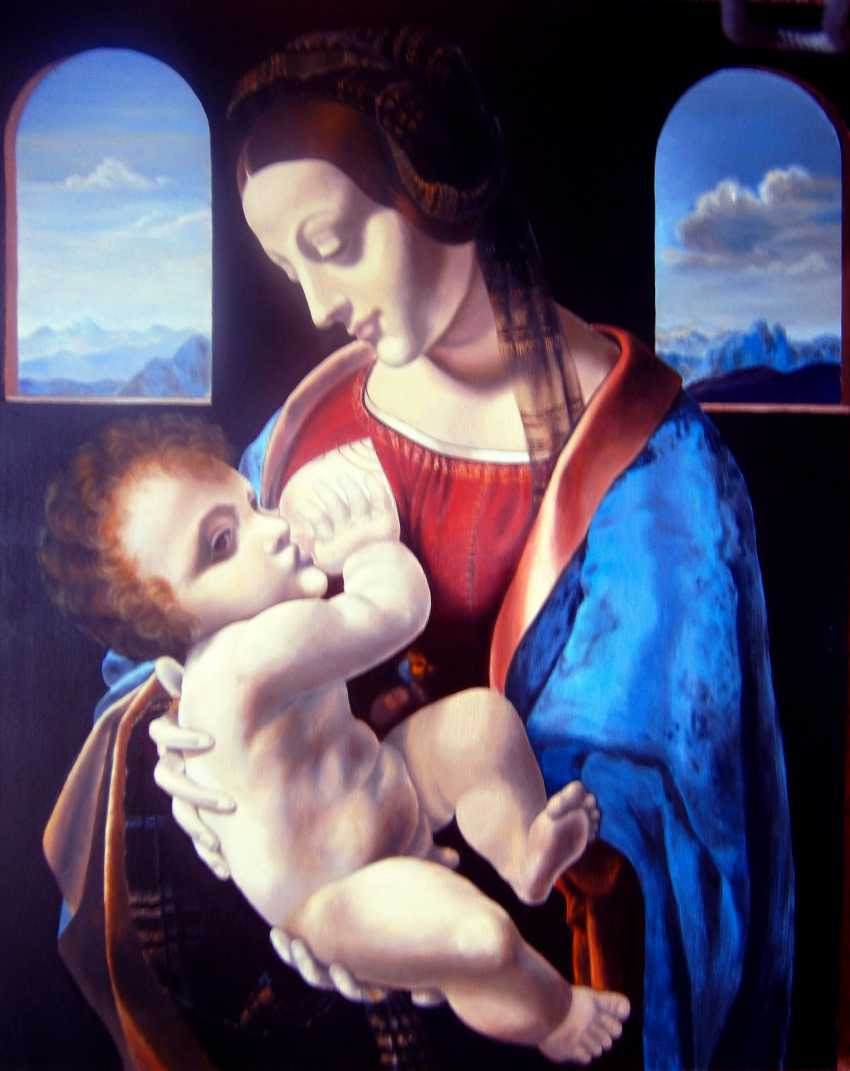 Natalia Samsonova. Madonna Litta - photo 1