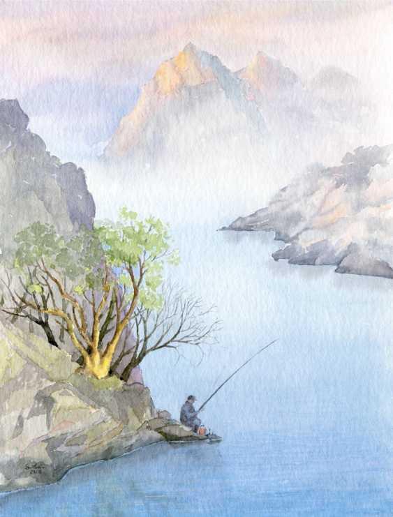 Smbat Bagdasarian. La solitude-pêche - photo 1