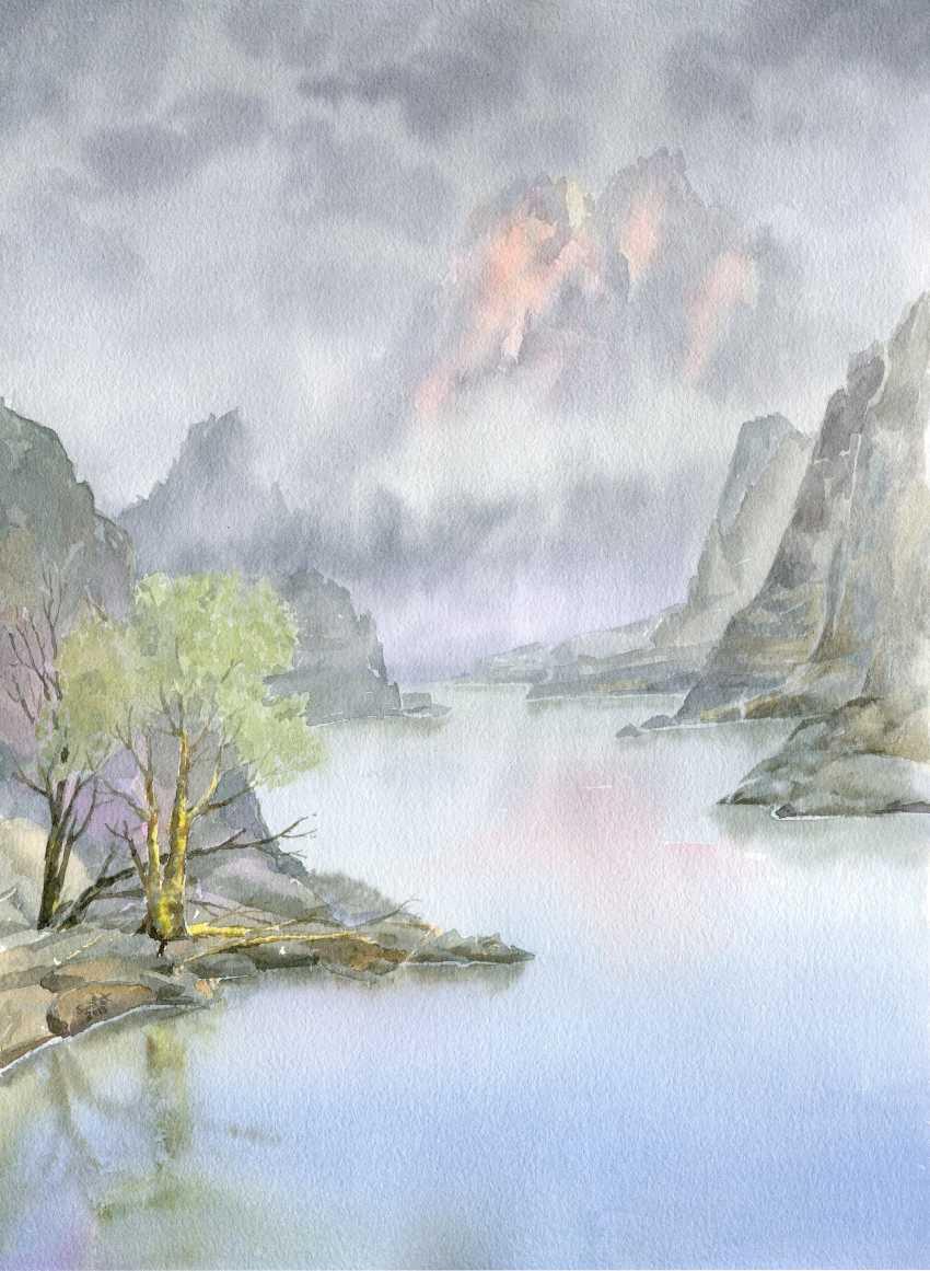 Smbat Bagdasarian. Lake and silence - photo 1