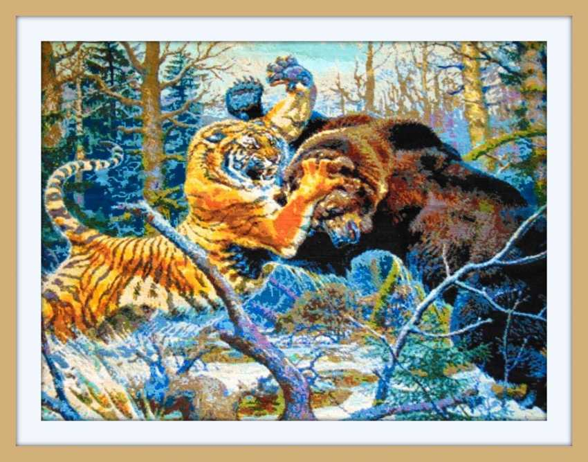 "Nadezhda Griniko. ""fight a tiger and a bear"" - photo 1"