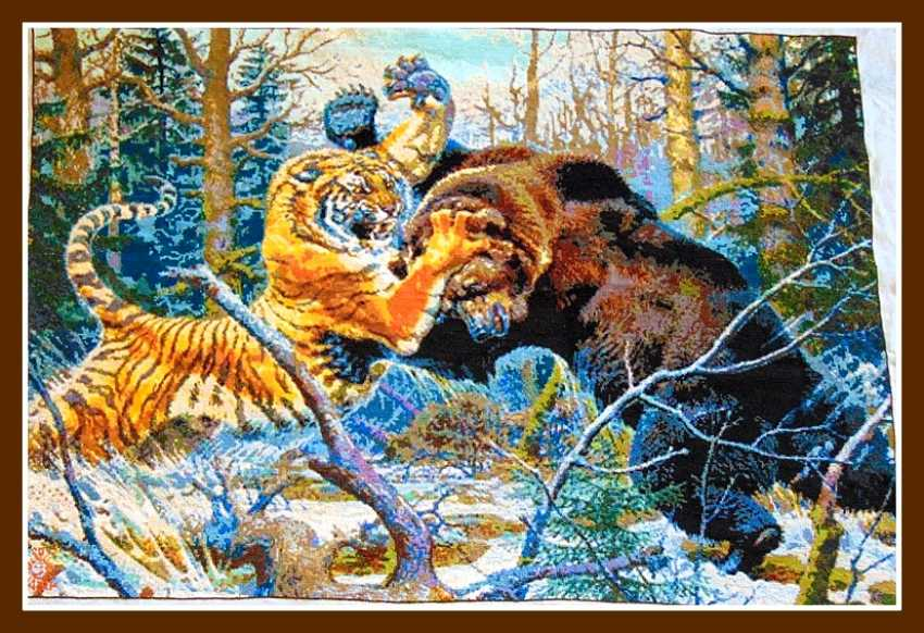 "Nadezhda Griniko. ""fight a tiger and a bear"" - photo 2"