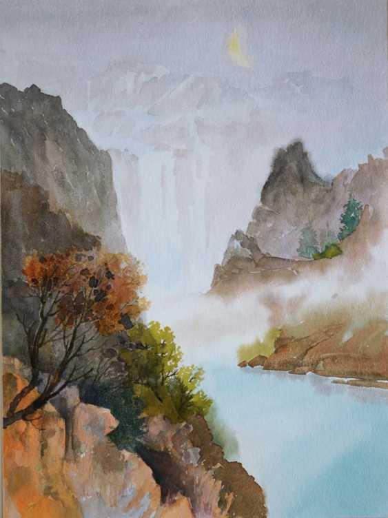 Smbat Bagdasarian. waterfall - photo 1