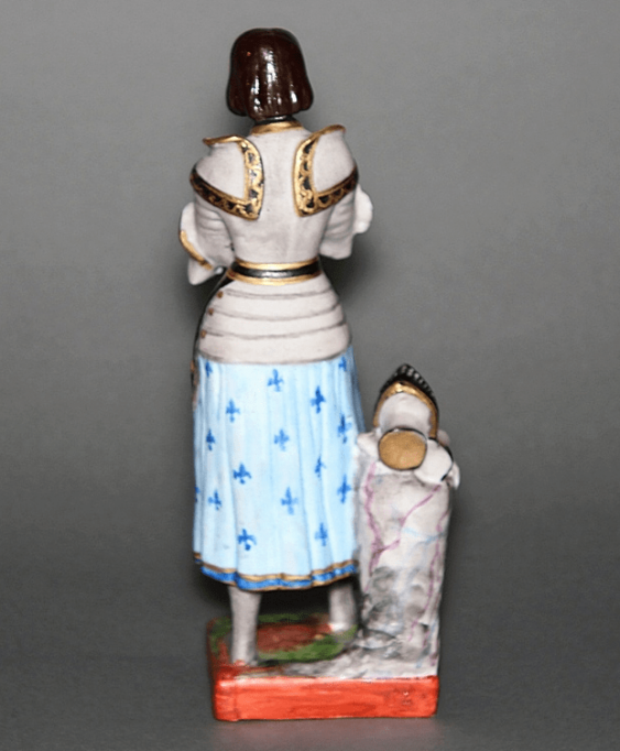 "Figurine ""Joan of arc""of the XIX century, porcelain - photo 2"