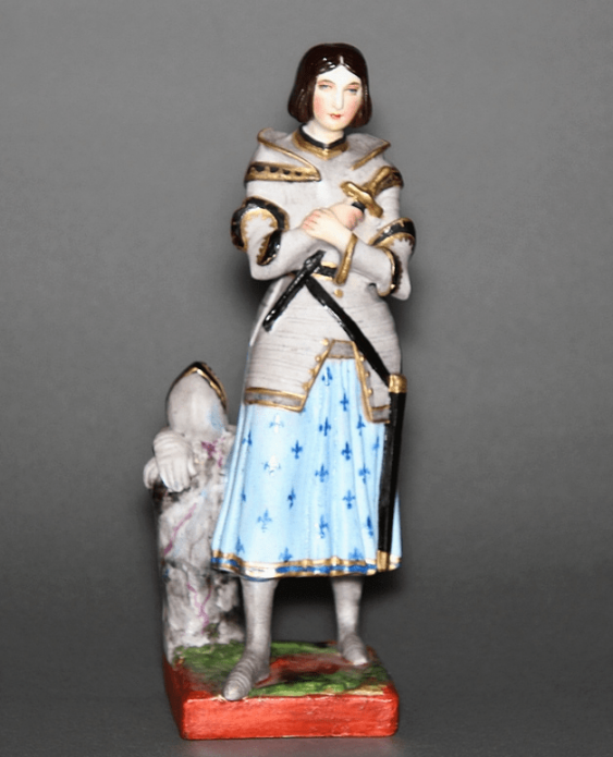 "Figurine ""Joan of arc""of the XIX century, porcelain - photo 1"