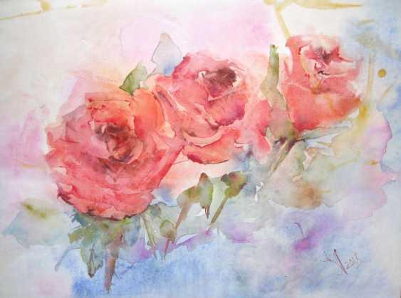 Anna Lomachenko. Roses. Trio - photo 1