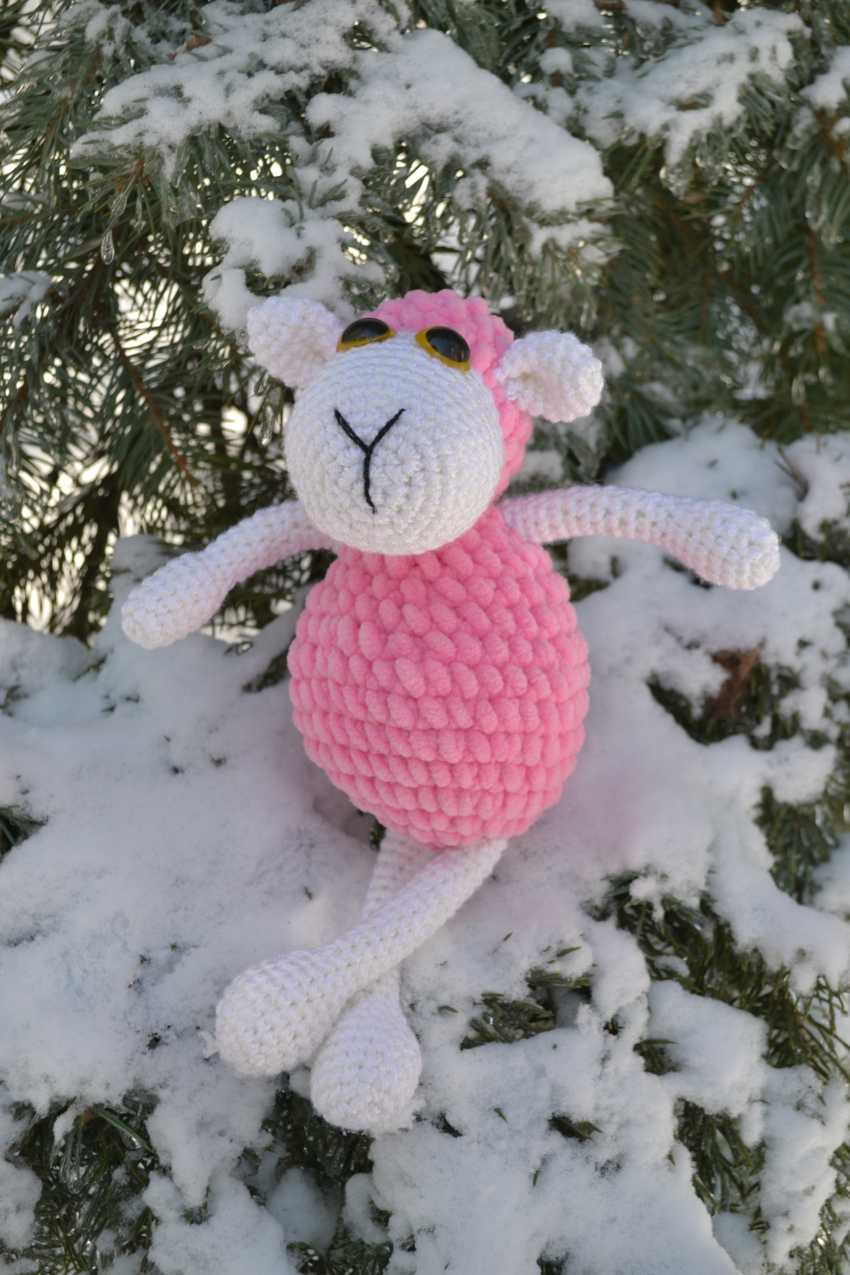 Tanya Derksch. Marshmallow sheep - photo 4