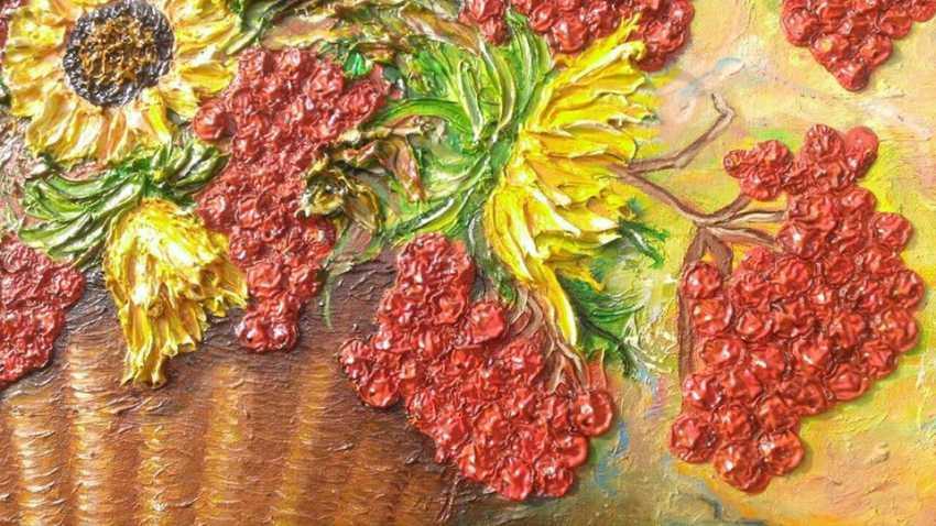 Ruda NATALIIA. Sunflowers with Kalina - photo 3