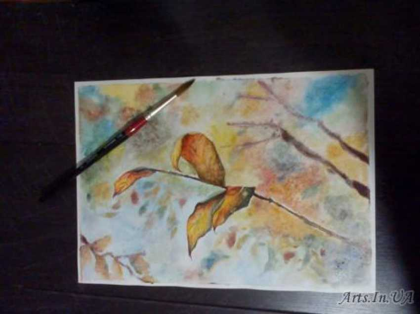 Tatyana Kazimir. Autumn leaves - photo 1
