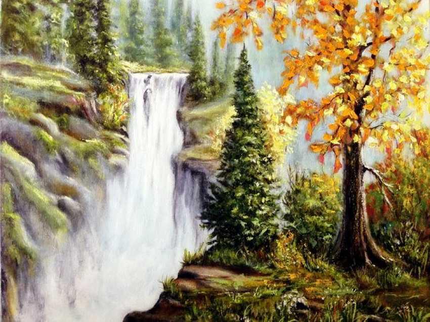 Svitlana Antonova. Waterfall - photo 1