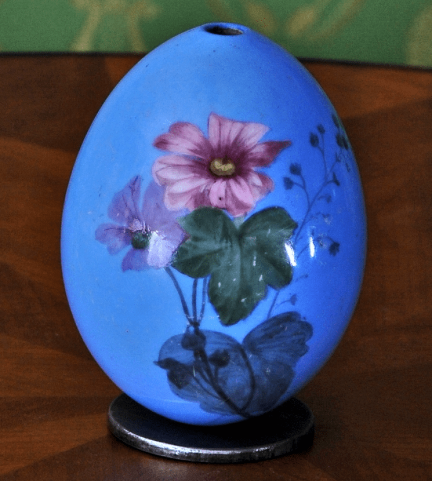 Easter egg Imperial porcelain factory, beginning of the 20th in - photo 1