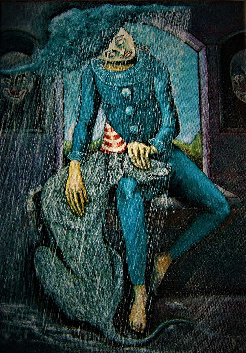 Andrey Trifonov. , The mask of the rain, - photo 1