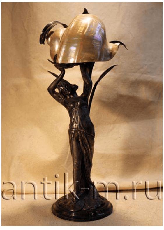 "Table lamp. Europe of the XIX century ""Modern"" - photo 1"