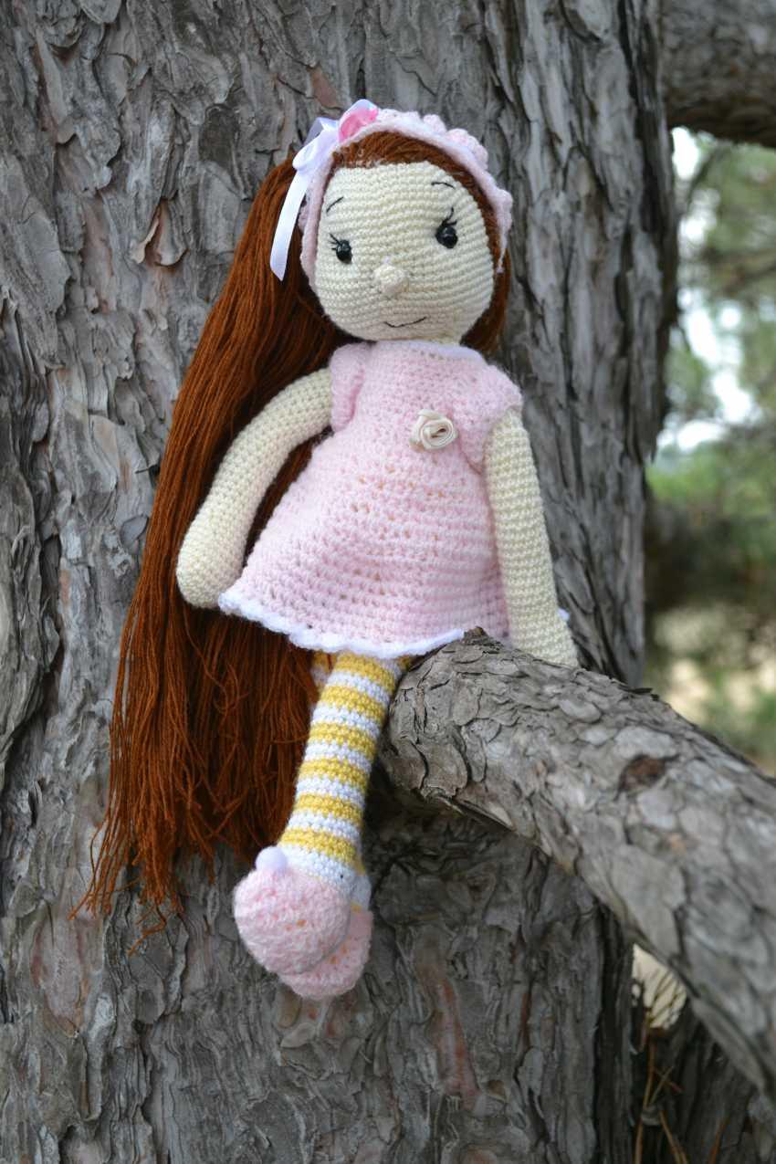 Tanya Derksch. Puppe FREY - Foto 1