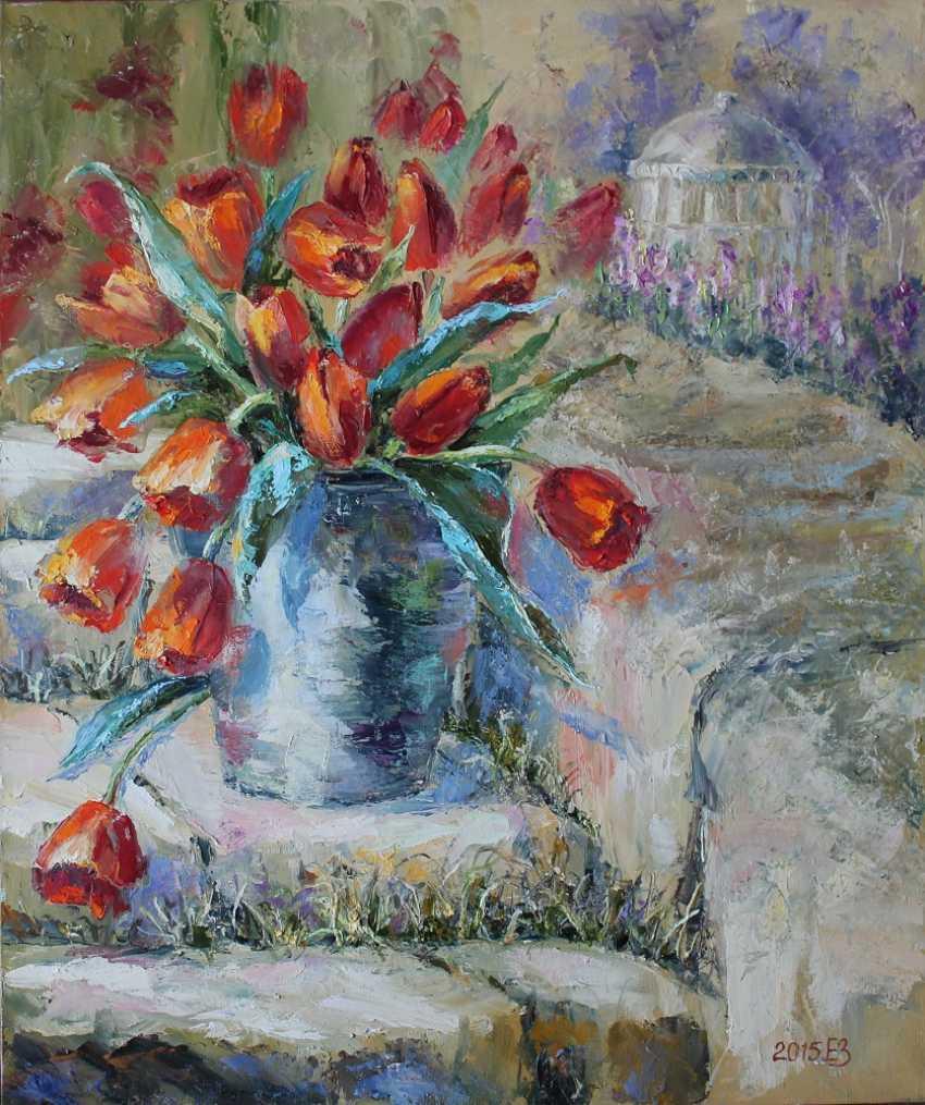 Elena Zorina. Tulips - photo 1