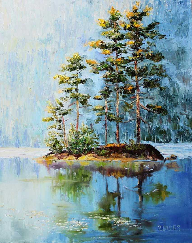 Elena Zorina. Brooding pines - photo 1