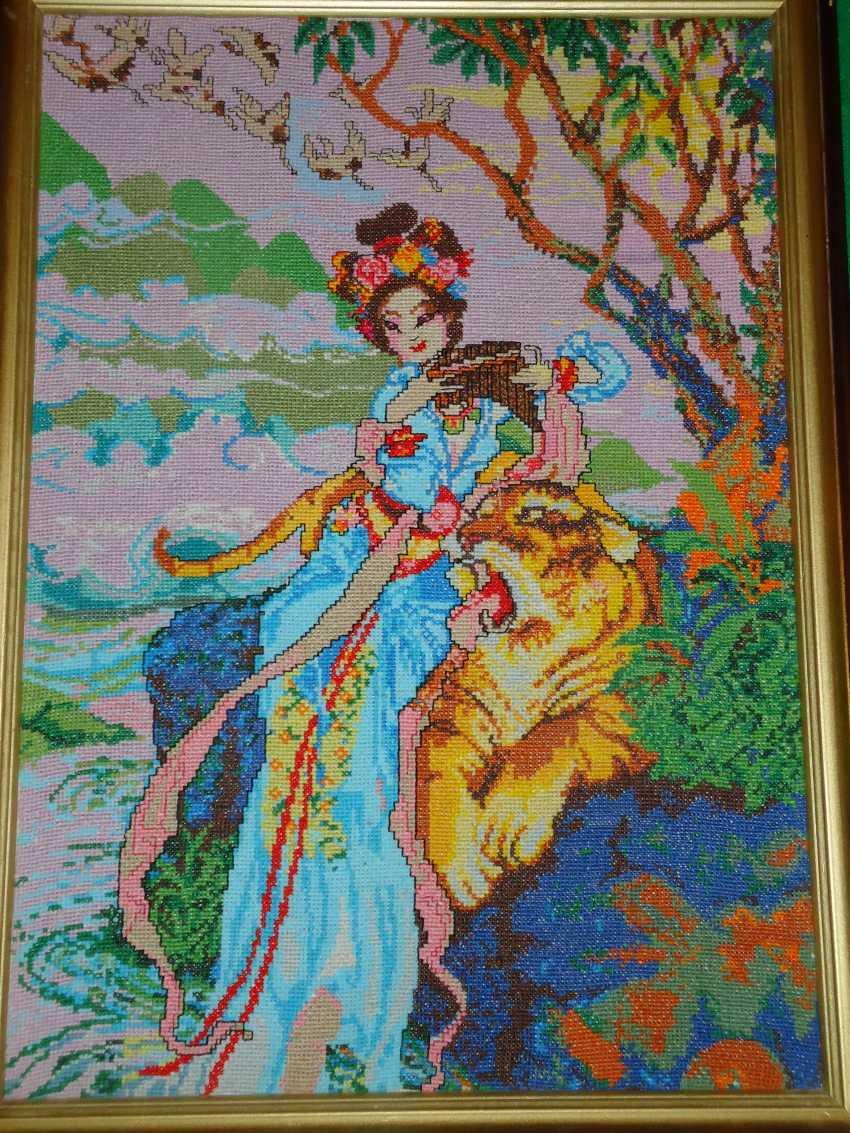 "Tatyana kopulova. ""The magic melody of the Japanese cherry blossoms"" - photo 1"