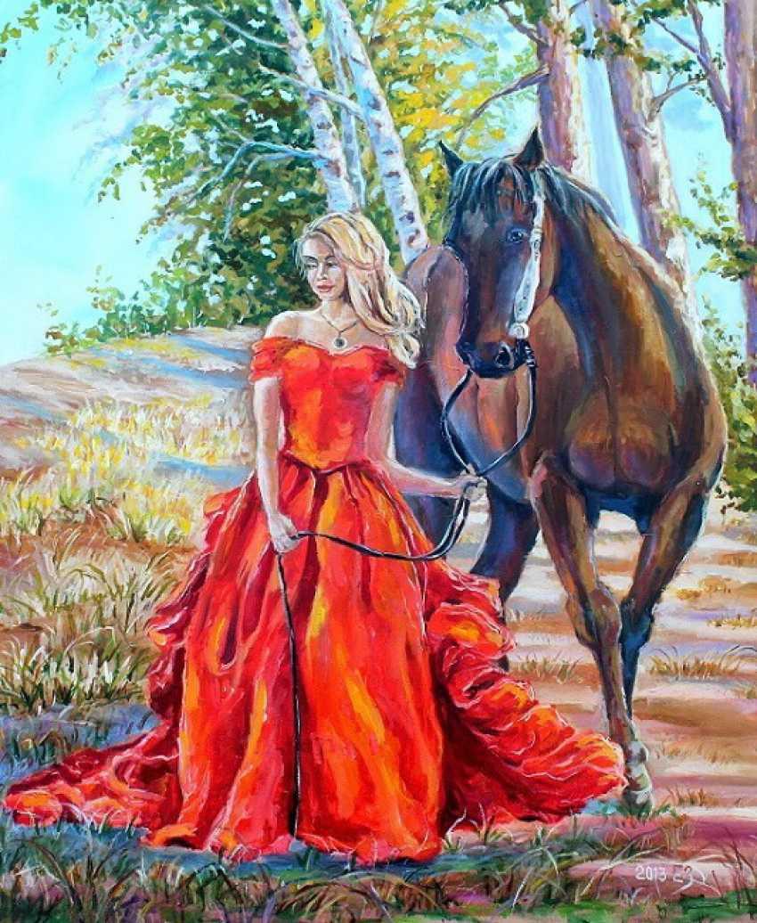 Elena Zorina. Dream with you hand to go - photo 1