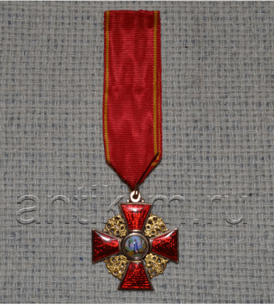 The Order Of St. Anna 3. gold - photo 1
