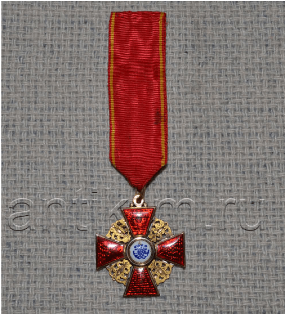 The Order Of St. Anna 3. gold - photo 2