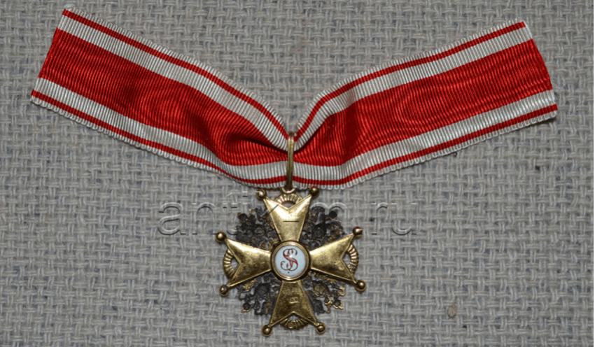 The Order Of St. 3 St. Stanislaus, gold, - photo 2