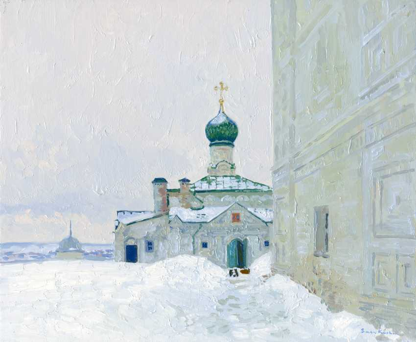 Simon Kozhin. All Saints Church of Holy Trinity Danilov monastery. Pereslavl-Zalessky. - photo 1