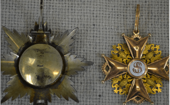 The Order Of St. Stanislaus 1-th degree , 56 gold PR - photo 2