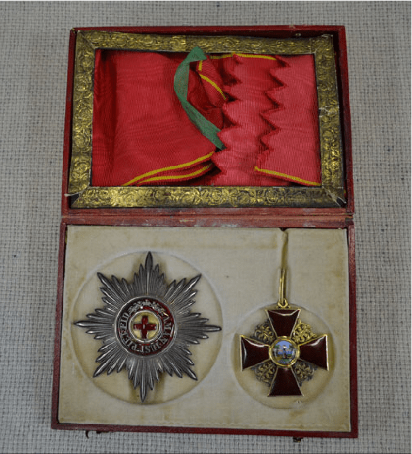 The Order Of St. Anna 1-th degree gold 56 Ave. - photo 1