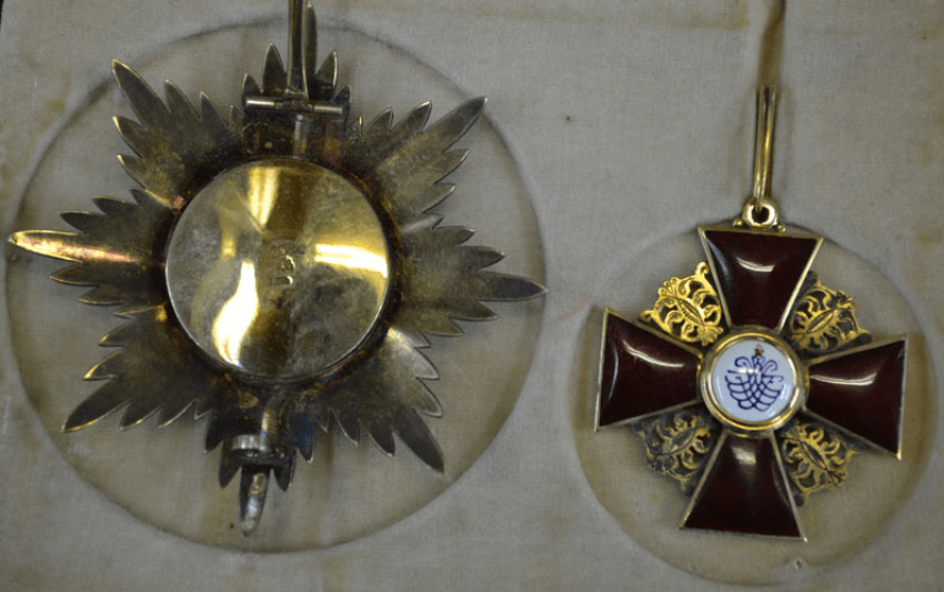 The Order Of St. Anna 1-th degree gold 56 Ave. - photo 2