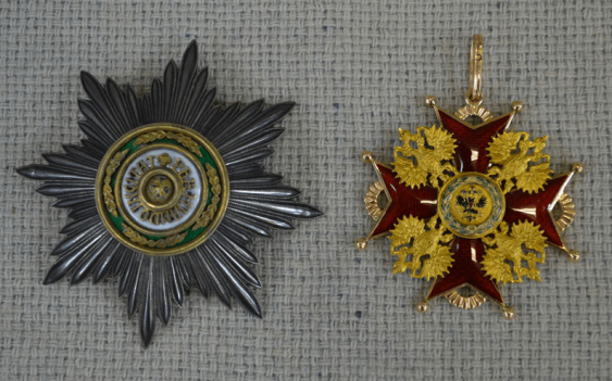 The Order Of St. Stanislaus 1-th degree gold 56 PR - photo 1