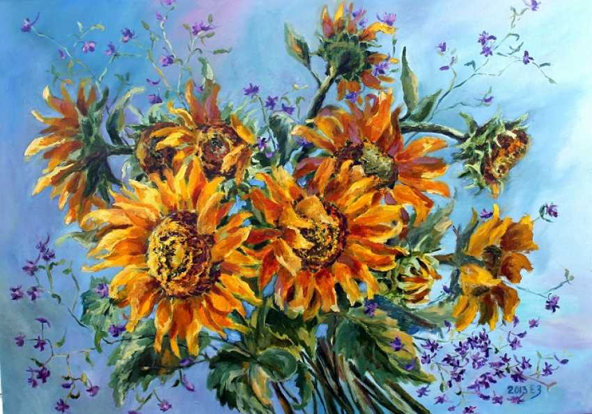 Elena Zorina. Solar flowers - photo 1