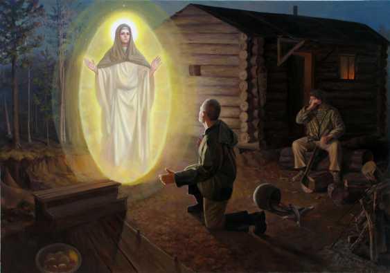 "Artur Kovalev. ""Die Erscheinung der Jungfrau Maria"" ""The Appearance of the Virgin"" - Foto 1"