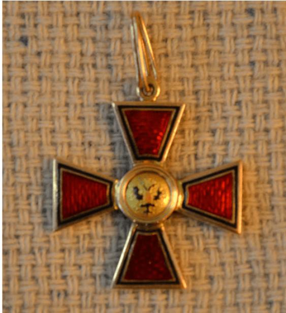 The Order Of St. Vladimir 4-th degree gold 56 PR - photo 1