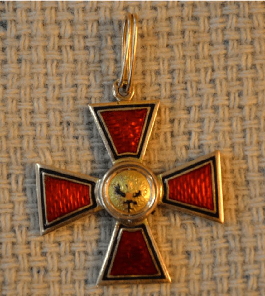 The Order Of St. Vladimir 4-th degree gold 56 PR - photo 2