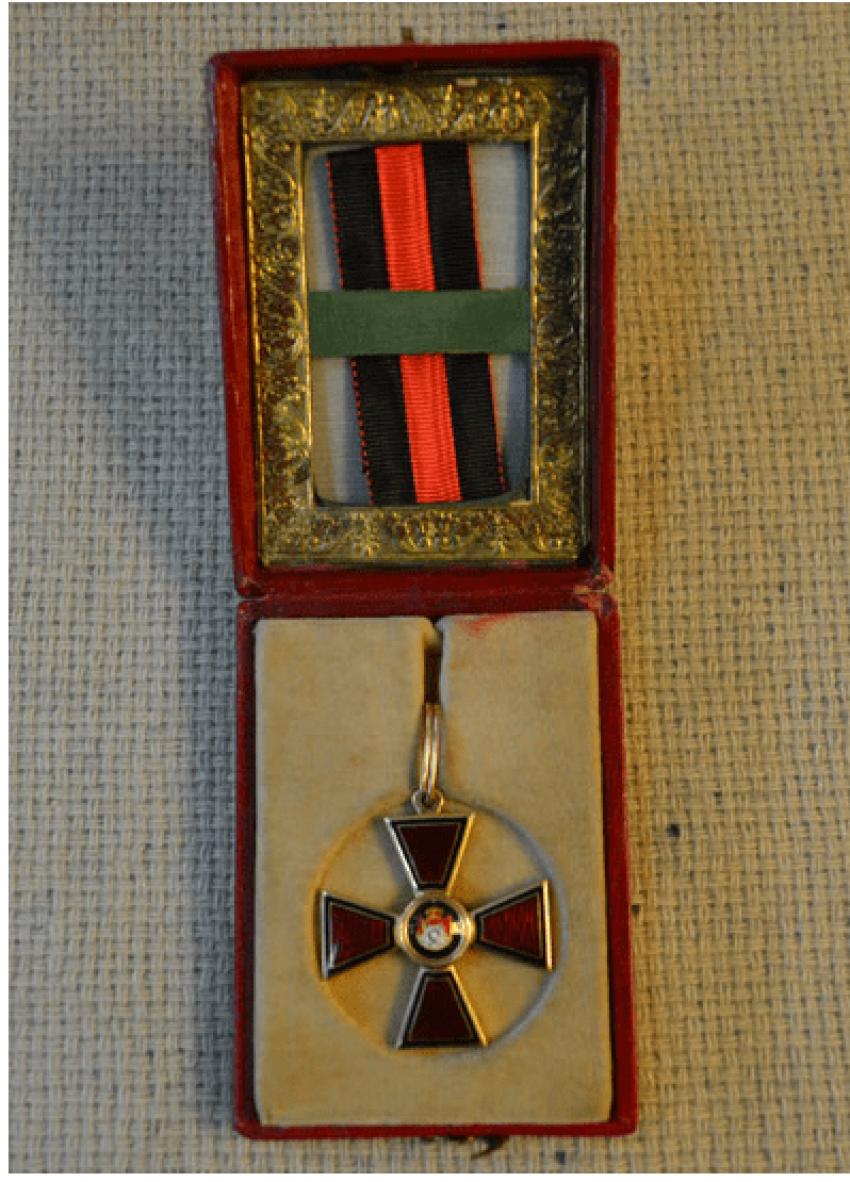 The Order Of St. Vladimir 4-th 56 gold PR - photo 1