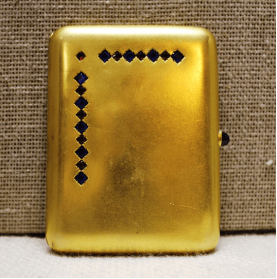 Cigarette case, gold 56 sample - photo 1