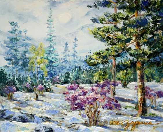 Elena Zorina. Spring in the Altai - photo 1