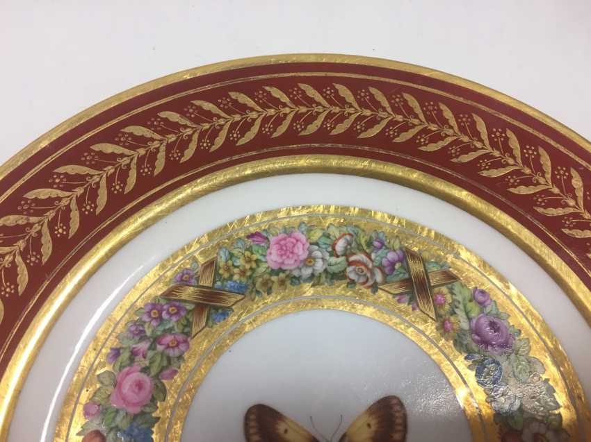 Sevres Plate Marly Rouch 1809 - photo 2
