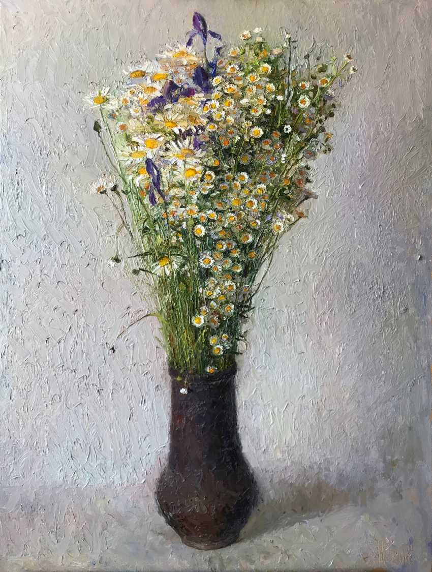 "Kateryna Kosianenko. ""Daisies in a tall jug"" - photo 1"