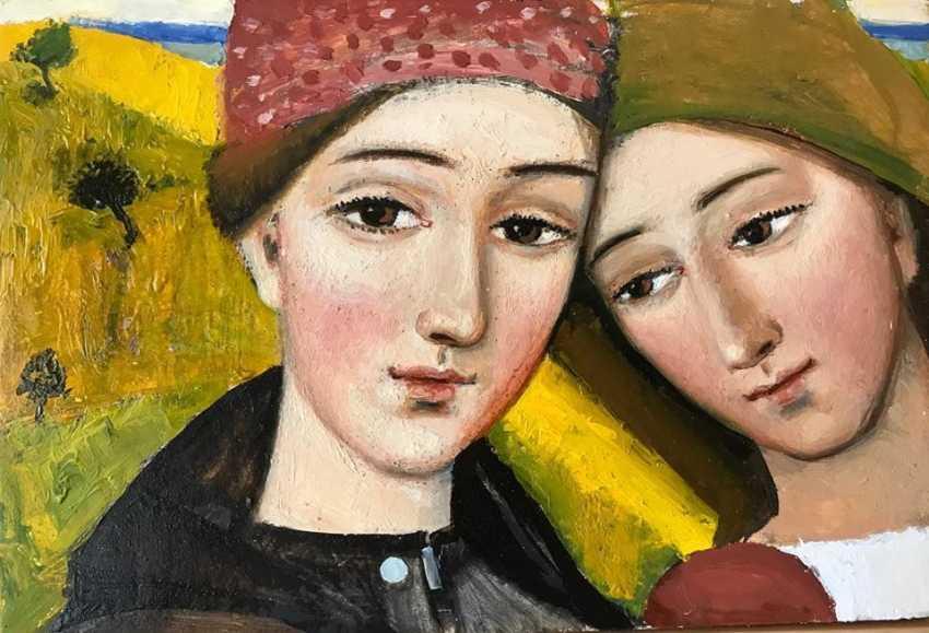 """Kateryna Kosianenko. """"Sisters"""" - photo 1"""