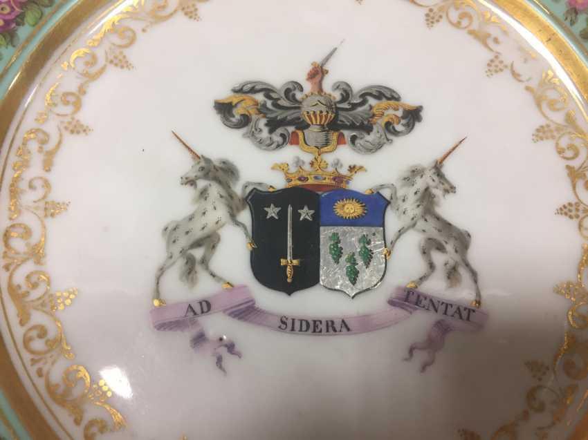Sevres Plate Porcelain 1820 - photo 3