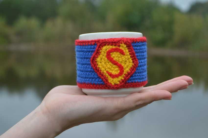 "Tanya Derksch. chaud tasse de ""Superman"" - photo 1"