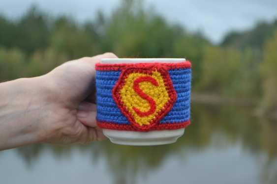 "Tanya Derksch. chaud tasse de ""Superman"" - photo 2"
