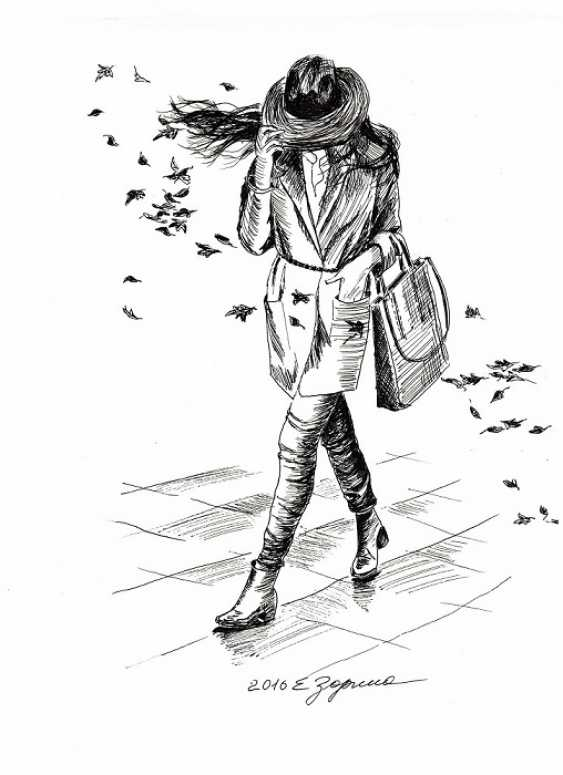 Elena Zorina. The wind - photo 1