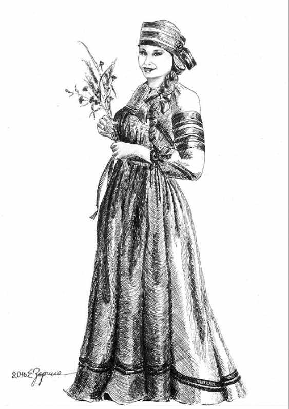 Elena Zorina. Meadow flowers - photo 1