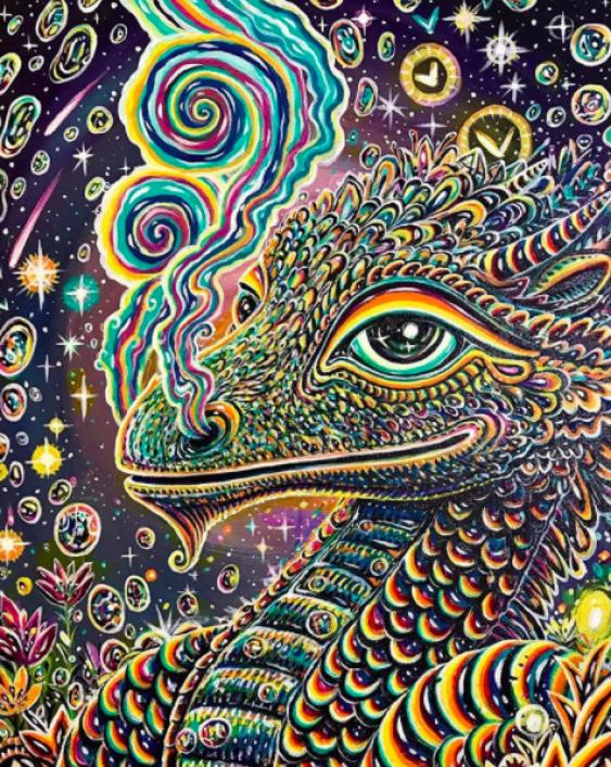 "Tatyana Kopulova. ""Galactic dragon Lou"" - photo 1"