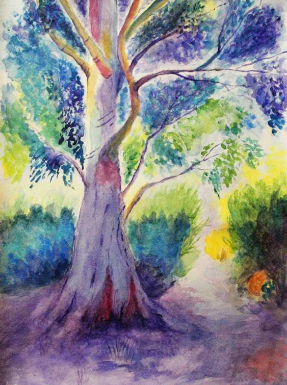 nino gudadze. Watercolor Tree - photo 1