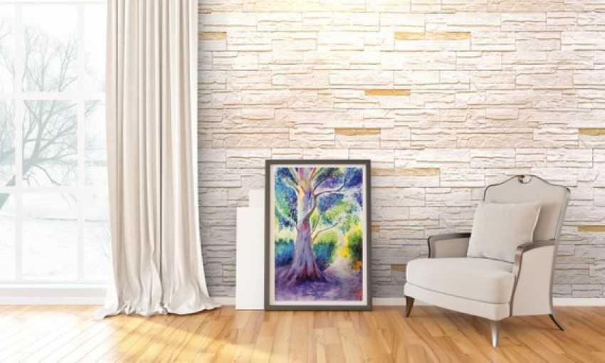 nino gudadze. Watercolor Tree - photo 2