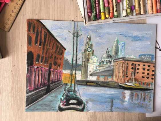Renata Mantel. The Royal ALbert Dock in Liverpool - photo 2
